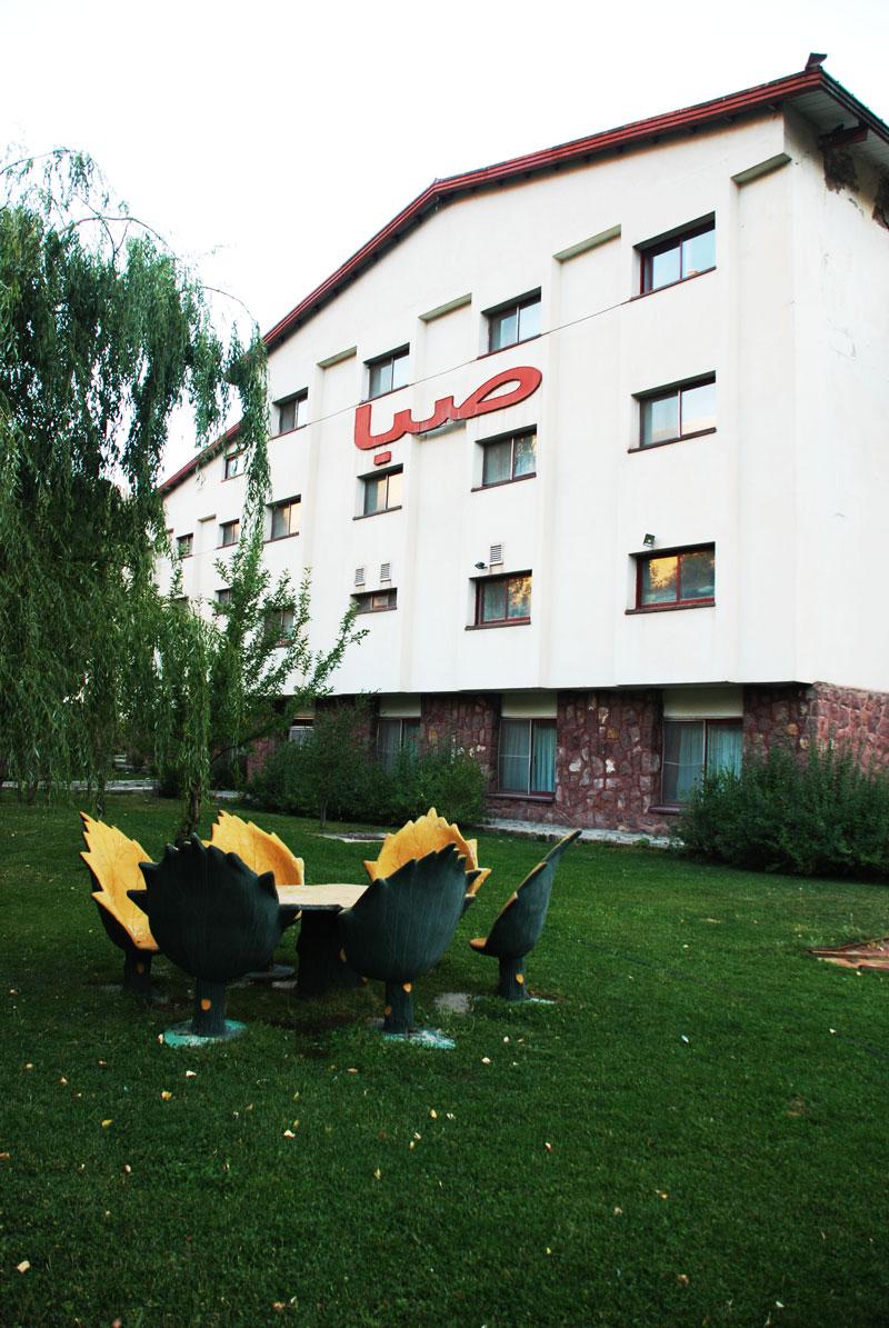 ساختمان صبا هتل گاجره